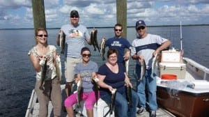 trout fishing charter tampa
