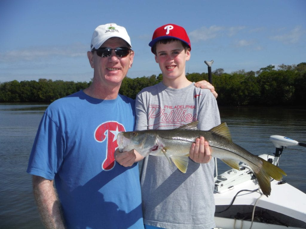 Snook fishing charters tampa