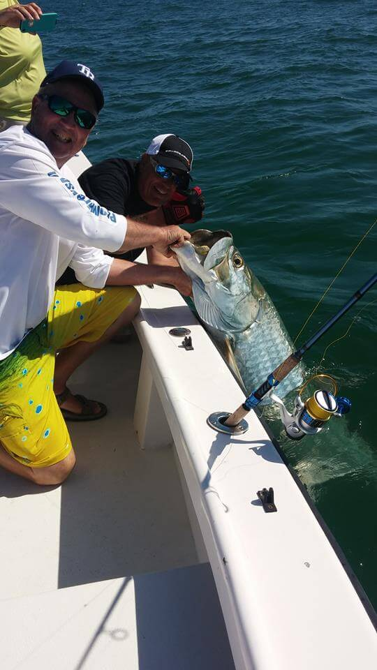 fishing for tarpon
