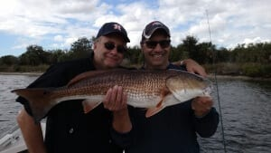 tampa bay fishing charters for redfish