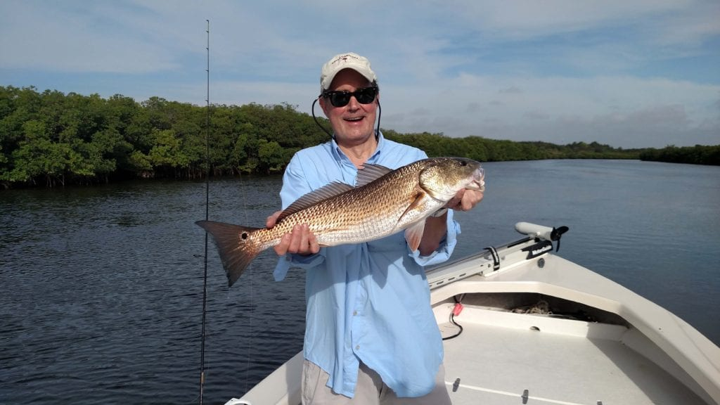 Tampa bay redfish tampa bay fishing charters for Tampa fishing outfitters