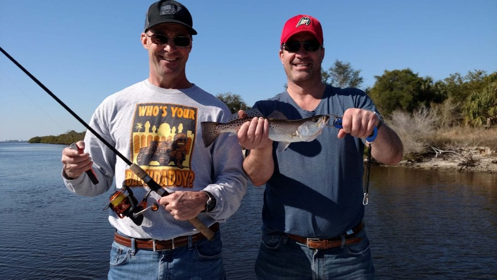 trout fishing tampa bay