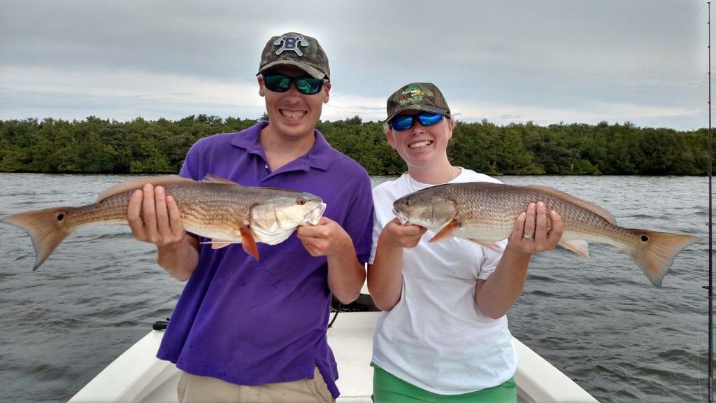 tampa fishing for redfish