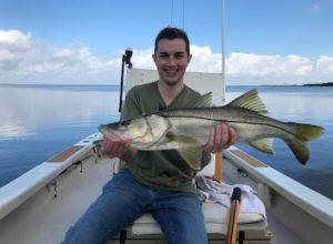 December snook fishing Tampa bay