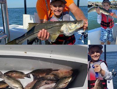 kids fishing trip tampa