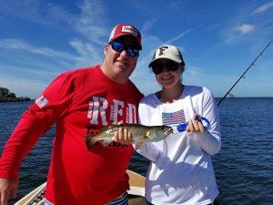 tampa bay trout fishing